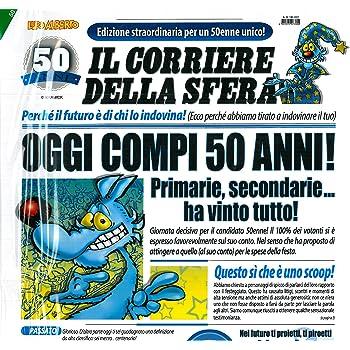 Gaston Lagaffe glct6026/Buon Compleanno 50/anni uomo donna con busta illustr/ée assortie
