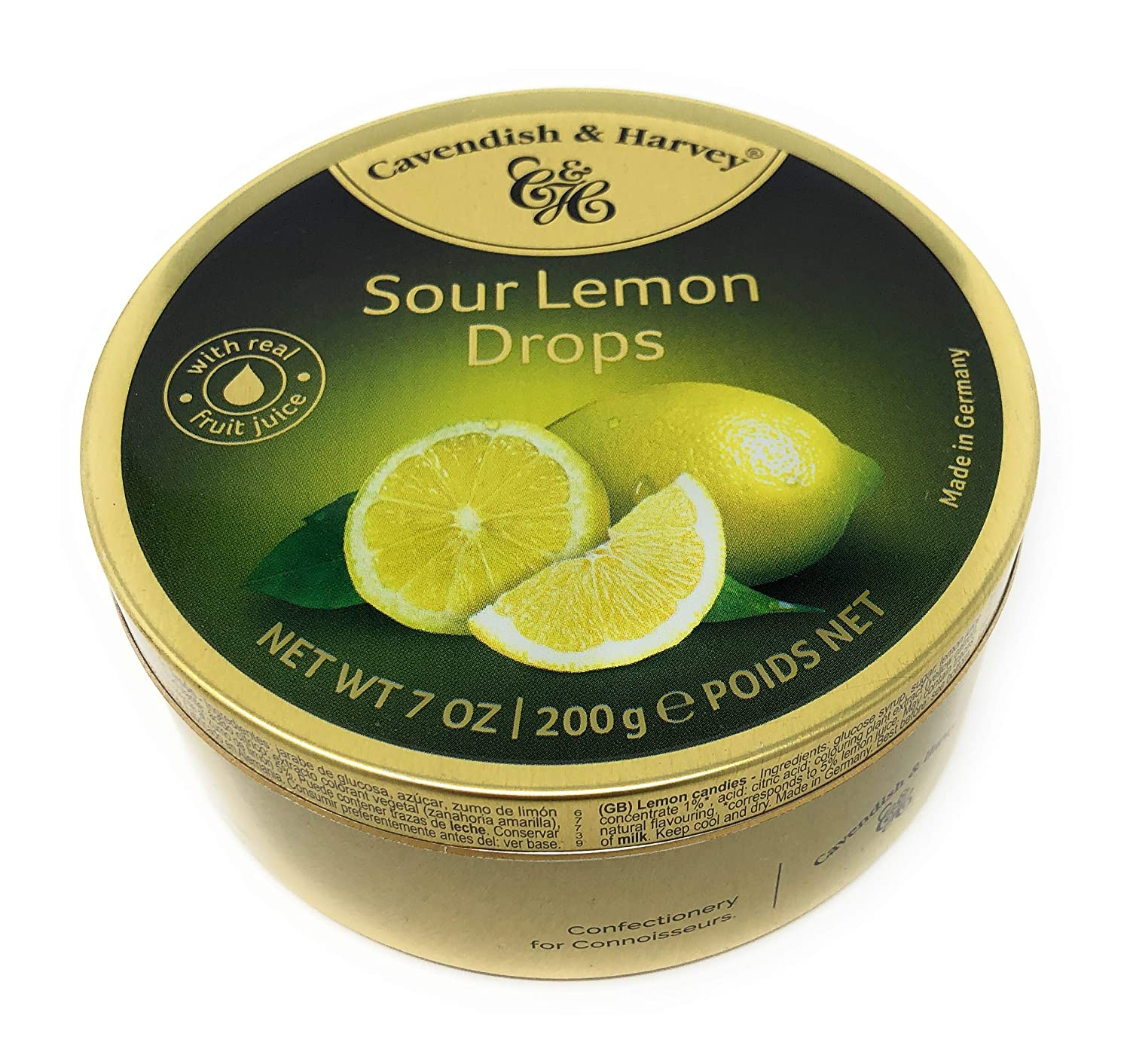 Sour Lemon Drops in a ~ Germany Weekly update A surprise price is realized Tin Can