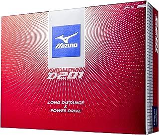 MIZUNO(ミズノ) ゴルフ ゴルフボール D201 1ダース(12個入り) 5NJBD227 2ピース