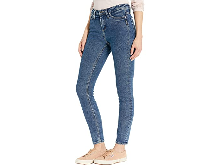 Silver Jeans Co.high Note Skinny L64027sfv379 Indigo