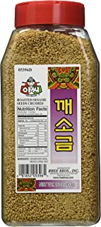 Assi Roasted Crushed Salt Sesame Seeds, 16 Ounce