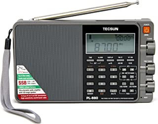 Tecsun PL880 Shortwave Radio with Digital Signal Processing, Longwave, FM and AM broadcast bands