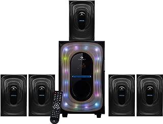 Zebronics Wave SW RUCF 5.1 Multimedia Speaker (Black)