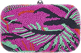 From St Xavier Women's Catalina Box Clutch, Bright Pink, One Size