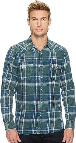 Lucky Brand - Green Indigo Shirt