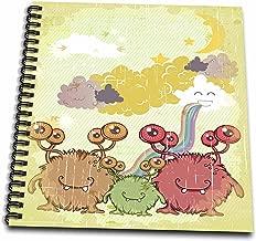 تصميمات Dooni Designs Fantasy–بدلة أطفال بناتي مطبوع عليها ونظارة Mommy Daddy و Family Fantasy تصميم Vector Monster–كتاب رسم, 8 by 8-Inch
