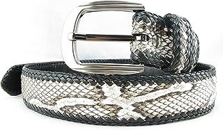 """PELGIO Genuine Python Snake Skin Handmade Belt 46"""""""