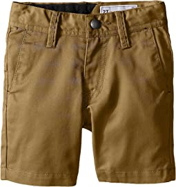 Volcom Kids Frickin Chino Shorts (Toddler/Little Kids)