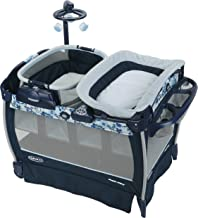 Graco Pack 'n Play Nearby Napper Playard | Includes Portable Napper, Full-Size Infant Bassinet, and Diaper Changer, Tessa