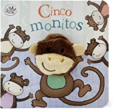 Cinco monitos / Five Little Monkeys (Finger Puppet Book) (Spanish Edition)