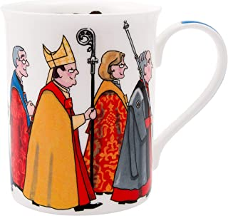 Alison Gardiner Famous Illustrator - Church Cathedral Procession Religious Fine Bone China Coffee Cup and Tea Mug - Premium Quality and Detail