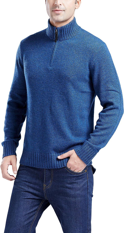 Gilboa Men's Max 58% OFF 2021 new Half-Zip Blend Lambswool Sweater