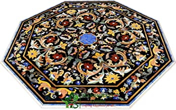 Handicraft Store Marble Inlay Table Top for Dining Table, Conference Table, Center Table, Patio Table and Home Decor