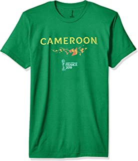 FIFA Officially Licensed Cameroon Men's Tee, Kelly, Large