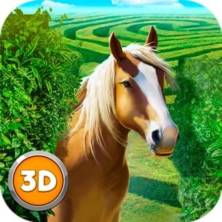 Wild Horse Maze Dungeon Simulator: Horse Quest Animal Surviving Game | Labyrinth Maze Running
