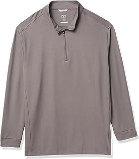Men's Drytec UPF 50+ Cotton Advantage Zip Mock Pullover