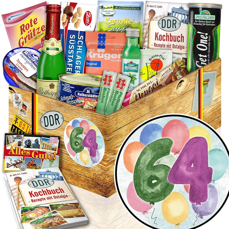 Geschenke zum 64 Geschenke zum 64 Geburtstag Ost-Paket