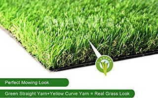 SunVilla 3'X3' Artificial Grass Realistic 【 Customized Sizes 】 Indoor/Outdoor Artificial Grass/Turf Many Sizes 3FTX3FT (9 Square FT)