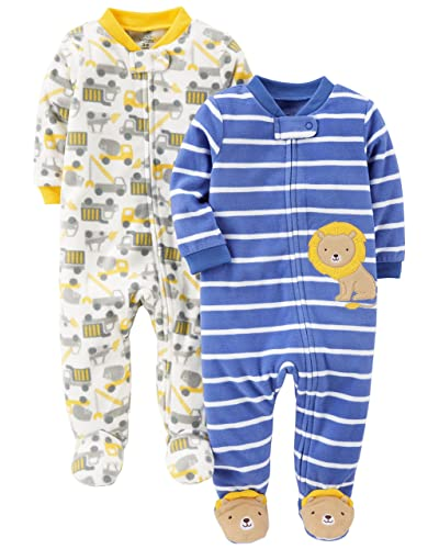 a1bbdae2323b Carter s Fleece Sleepers  Amazon.com