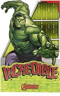 Disney Marvel Avengers Birthday Boy Card - Incredible Hulk Pop-Out Card