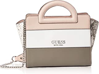 Guess Womens Tote Bag, Mauve Multi - VM767212