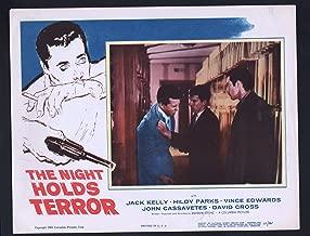 MOVIE POSTER: Night Holds Terror Lobby Card-1955-Jack Kelly