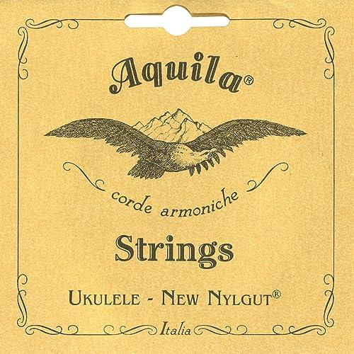 Aquila 5U Cordes Ukulélé Soprano Do - Sol Grave - GCEA Beige