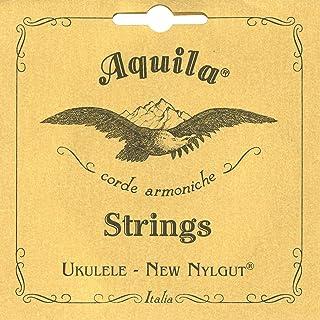 Aquila 7U Aquila Konzert-Ukulele-Satz 7U, New Nylgut, Standard-Stimmung, Key of C, GCEA, Saitenlänge 76 cm
