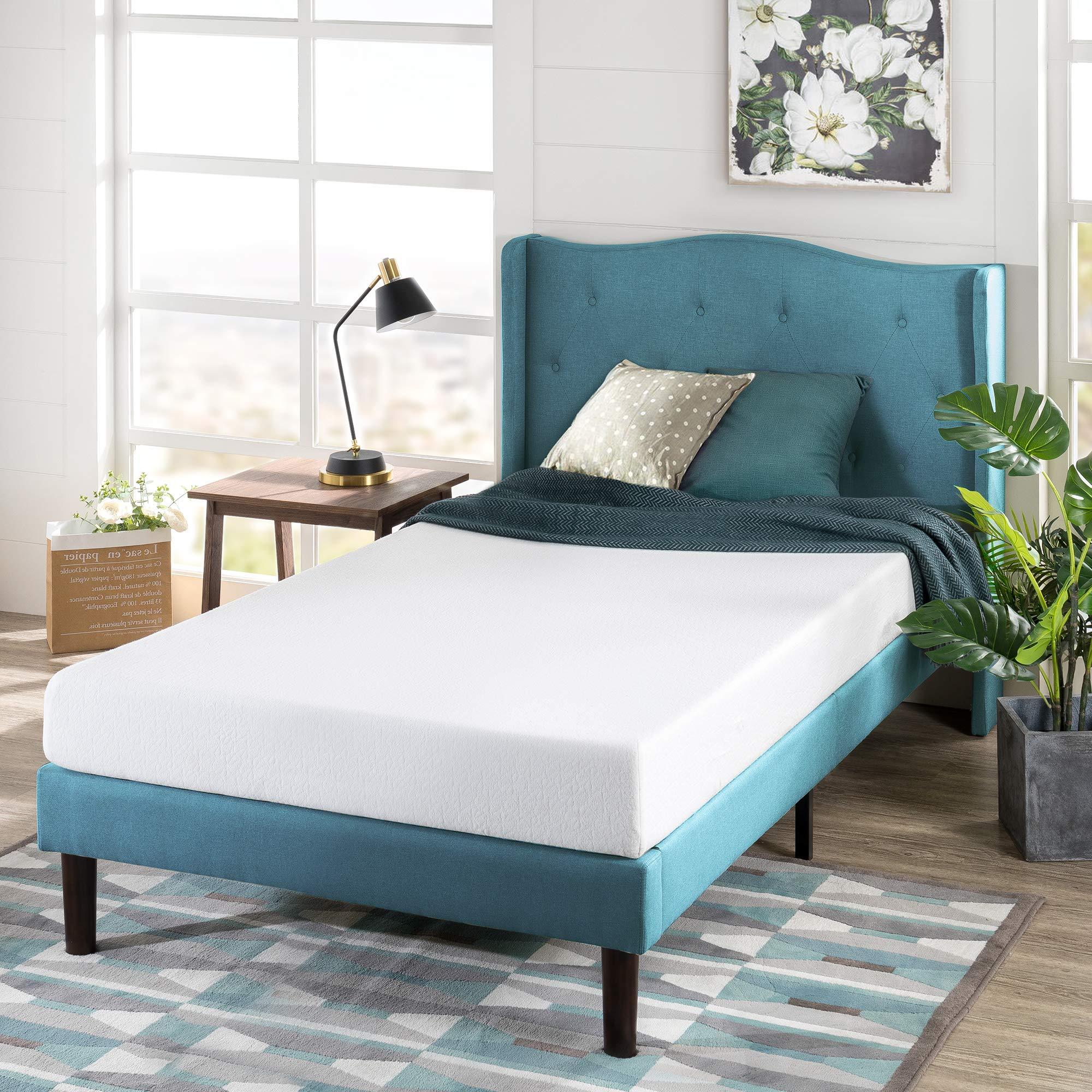 Zinus 6 Inch Green Tea Memory Foam Mattress / CertiPUR-US Certified / Bed-in-a-Box / Pressure Relieving, Narrow Twin