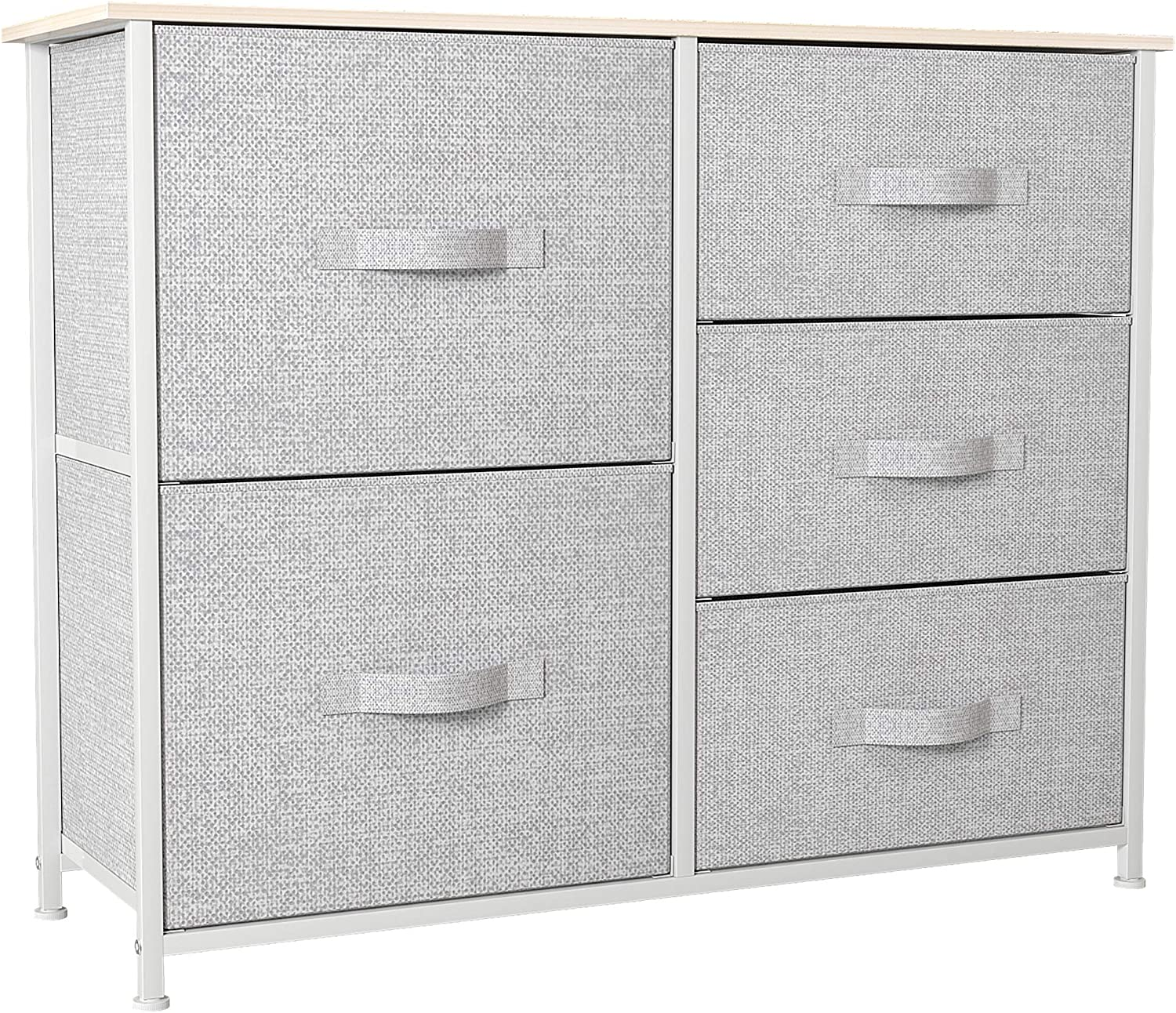 YITAHOME Dresser with 5 Drawers Tower - Fabric Large wholesale discharge sale Storage Organize