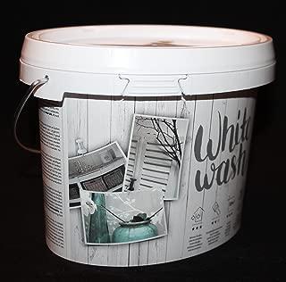 Kreidefarbe für Holz Vintage Shabby Chic Antiklook Whitewash - Weiss 1 Liter