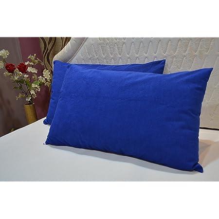 "Trance Home Linen Waterproof & Dustproof Pillow Protector-18 x 28"" (Blue)"