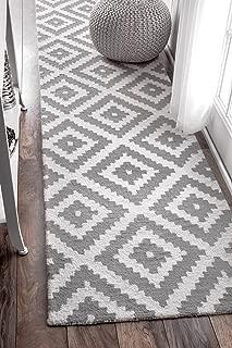 nuLOOM 200MTVS174B-2608 Kellee Contemporary Wool Runner Rug, 2' 6