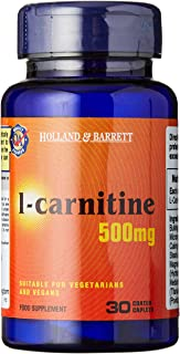 Holland & Barrett 500Mg L-Carnitine 30 Caplets, 30 count