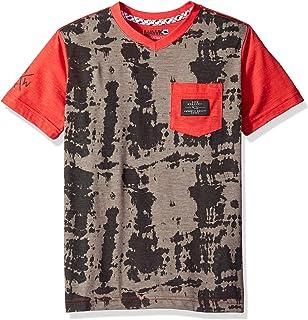 14a0c13f83 TONY HAWK Big Boys' Short Sleeve Graphic Stripe Skate Tee