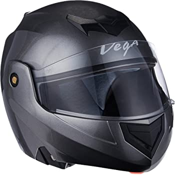 Vega Crux DX Flip-Up Helmet (Anthra, L)