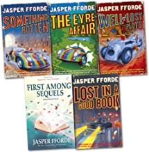 Jasper Fforde Thursday Next Series Collection 4 Books Set (Lost In a Good Book,Well Of Lost Plots, Something Rotten, First...