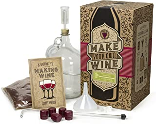 Craft a Brew Home Chardonnay Making Kit – Easy Beginners with Ingredients and Supplies – Ultimate Wine Brewing