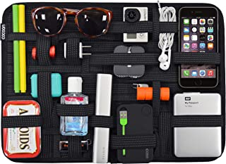 """Cocoon CPG51BK GRID-IT!® Organizer xLarge 11"""" x 15"""" Luggage Accessory (Black)"""