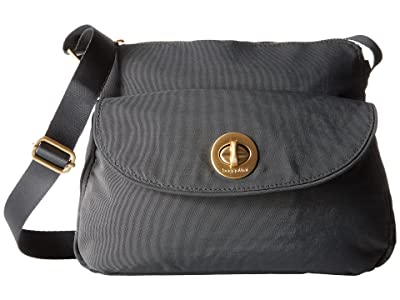 Baggallini Gold Provence Crossbody (Charcoal) Cross Body Handbags