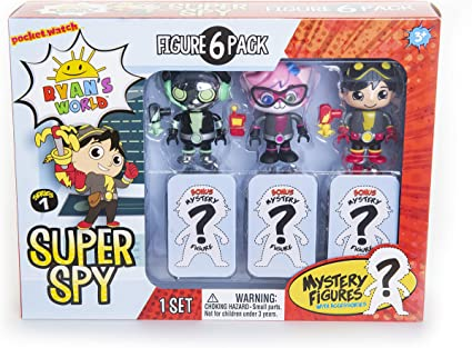 Mystery Assortment of Characters and Toys 8-Piece Surprise Box