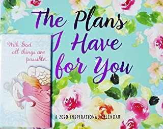 The Plans I Have for You 2020 Christian Wall Calendar 12