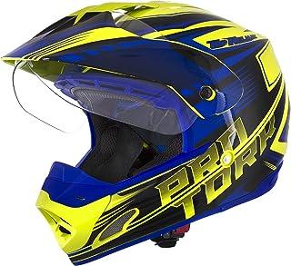 Pro Tork Capacete Th1 Vision Adventure 56 Amarelo/Azul