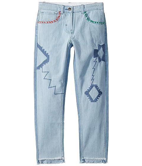 Stella McCartney Kids Embroidered Denim (Little Kids/Big Kids)