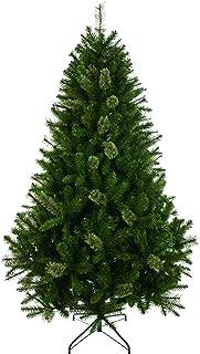 Festive 240cm Sherwood Green Fir Tree, Vinyl 240 cm