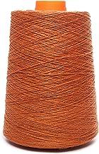 Lusie's Linen LinnenGaren - 100% Linnen - 0.53kg - Voor haken, weven, breien, borduren - Oranje (3 plooien)