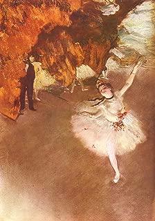 Home Comforts Degas, Edgar Germain Hilaire - The Prima Ballerina Vivid Imagery Laminated Poster Print 24 x 36