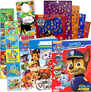 PAW Patrol Coloring Book and Stickers - 295 Stickers! by Stickerland