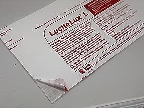 """Acrylic Cast Plexiglass Lucite Lux Plastic Sheet 0.125"""" - 1/8"""