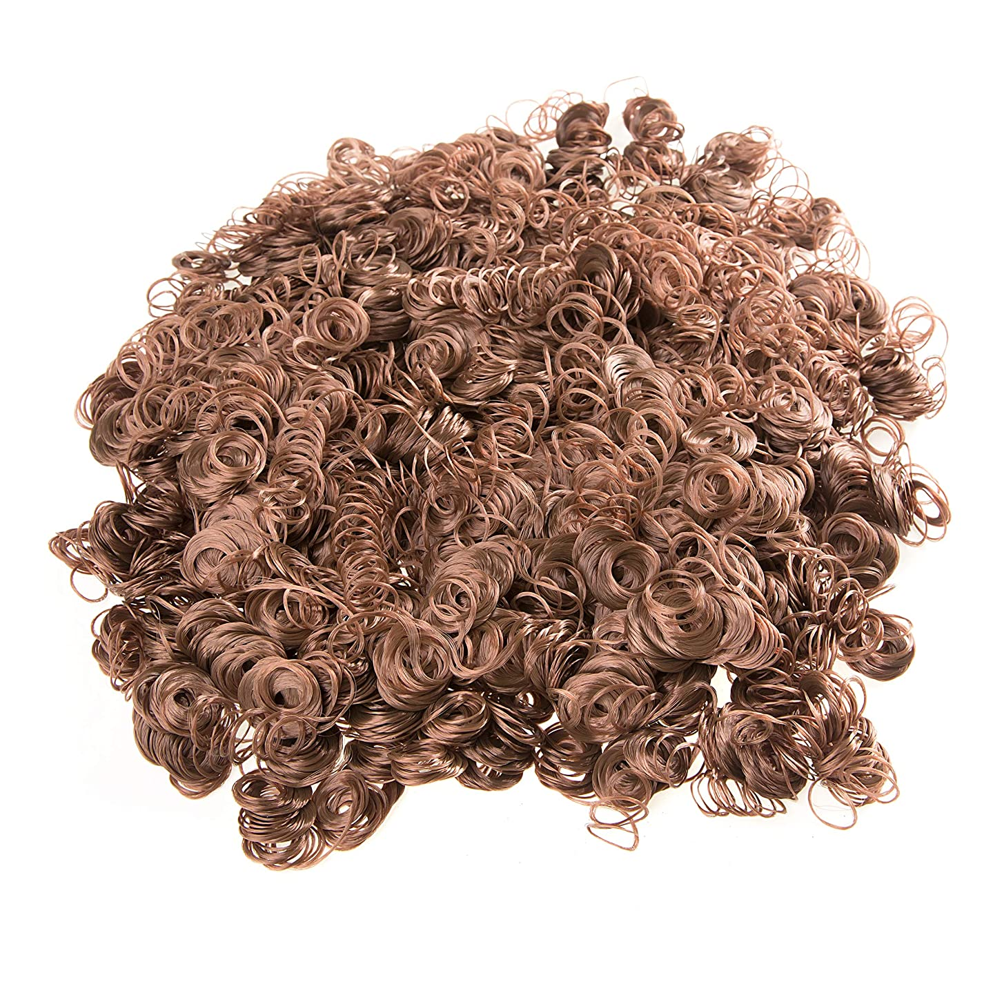 Darice Doll Hair, 4-Ounce, Auburn Brown